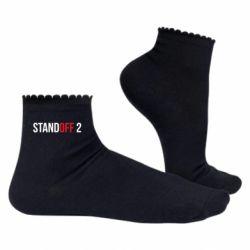 Жіночі шкарпетки Standoff 2 logo