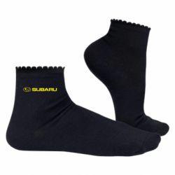 Женские носки Subaru logo