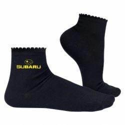 Жіночі шкарпетки Subaru