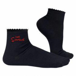 Жіночі шкарпетки The Simpson Logo