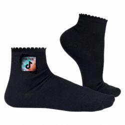 Жіночі шкарпетки Tik Tok art