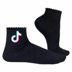 Жіночі шкарпетки TikTok sign