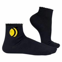 Жіночі шкарпетки товста бджілка
