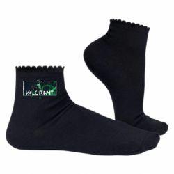 Жіночі шкарпетки Valorant player