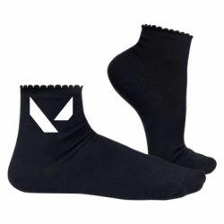 Жіночі шкарпетки Valorant sign