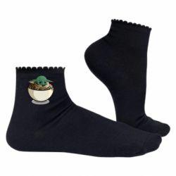 Жіночі шкарпетки Йода