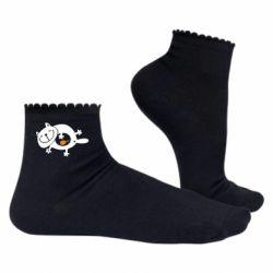 Женские носки Жирный кот