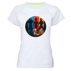 Женская спортивная футболка Aang Art
