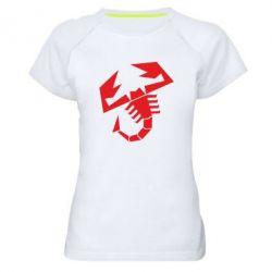 Женская спортивная футболка Abarth - FatLine