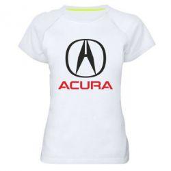 Женская спортивная футболка Acura - FatLine