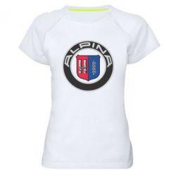Женская спортивная футболка Alpina - FatLine