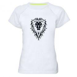Женская спортивная футболка Альянс - FatLine