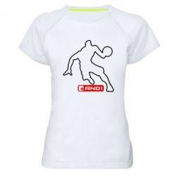 Женская спортивная футболка And1 - FatLine