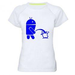 Женская спортивная футболка Android унижает Apple - FatLine