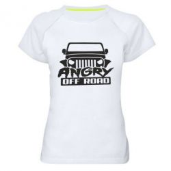 Жіноча спортивна футболка Angry Off Road