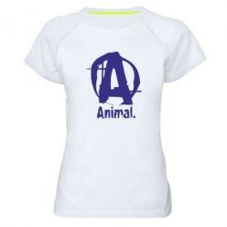 Женская спортивная футболка Animal - FatLine