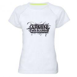 Женская спортивная футболка Armin Van Buuren - FatLine