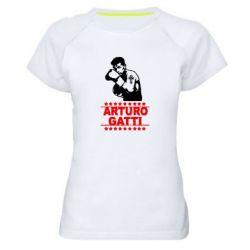 Женская спортивная футболка Arturo Gatti - FatLine