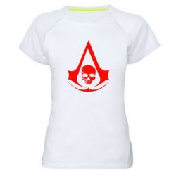 Женская спортивная футболка Assassin's Creed Misfit