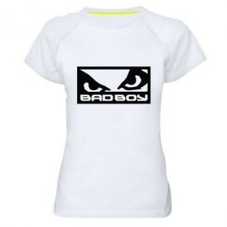 Женская спортивная футболка Bad Boy - FatLine