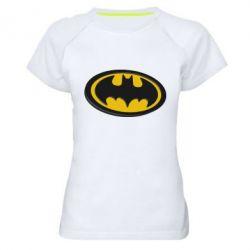 Женская спортивная футболка Batman 3D - FatLine