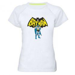 Женская спортивная футболка Batman Hero - FatLine