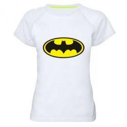 Женская спортивная футболка Batman - FatLine
