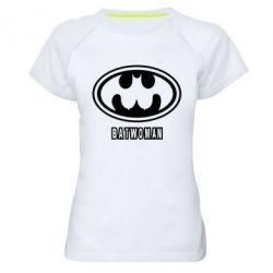 Женская спортивная футболка Batwoman - FatLine