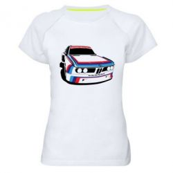 Женская спортивная футболка Bavarian Motor Works - FatLine