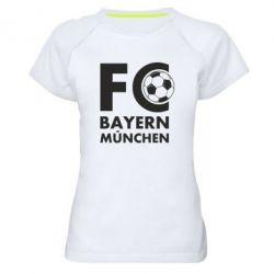 Жіноча спортивна футболка Баварія Мюнхен