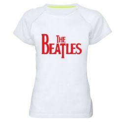 Женская спортивная футболка Beatles - FatLine