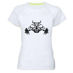 Женская спортивная футболка Big Bull - FatLine