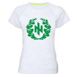 Женская спортивная футболка Бій під Крутами - FatLine