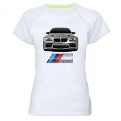 Женская спортивная футболка BMW M Power Car - FatLine