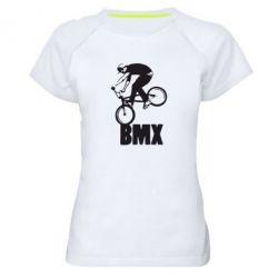 Женская спортивная футболка Bmx Boy - FatLine