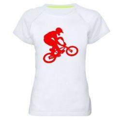Женская спортивная футболка BMX Extreme - FatLine