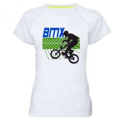 Женская спортивная футболка BMX Sport - FatLine