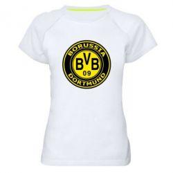Женская спортивная футболка Borussia Dortmund - FatLine