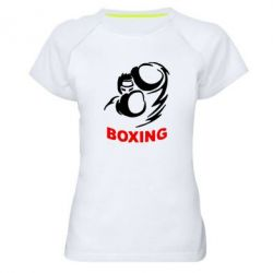 Женская спортивная футболка Boxing - FatLine