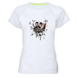 Женская спортивная футболка Братья