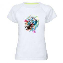 Женская спортивная футболка Брэйк Арт