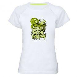 Женская спортивная футболка Bring me the horizon - FatLine