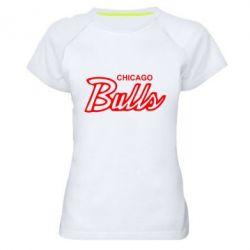 Женская спортивная футболка Bulls from Chicago - FatLine