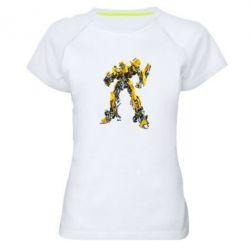 Женская спортивная футболка Bumblebee - FatLine