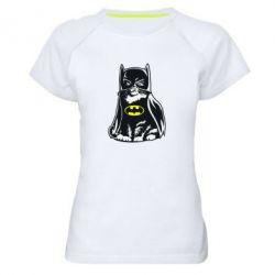 Женская спортивная футболка Cat Batman - FatLine