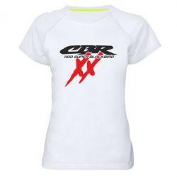 Женская спортивная футболка CBR Super Blackbird  1100 XX - FatLine