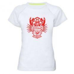Женская спортивная футболка Chemodan Clan PTZ Underground