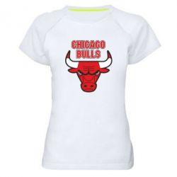 Женская спортивная футболка Chicago Bulls vol.2 - FatLine