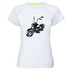 Женская спортивная футболка Чопер - FatLine