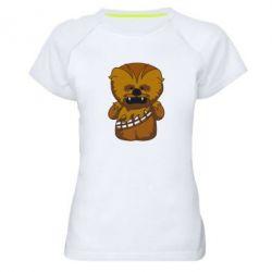 Жіноча спортивна футболка Чубакка